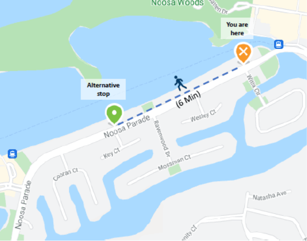 Noosa Parade Bus Stops Temporary Closures – Witta Circle, Key Court And Quamby Place 1