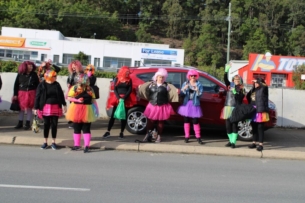 People Wearing Pink Dress Or Pink Wig