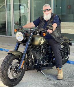 Tony On Harley