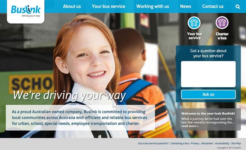 Welcome To Newlook Buslink 800x490pix